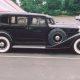 black 1933 Packard car