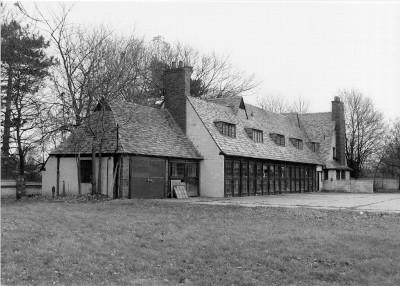 Gate Lodge Garage in disrepair photo from 1998