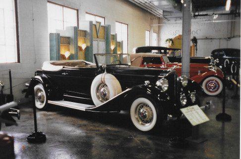 Beautiful black 1933 Packard