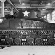 Sherman Tank in PPG Tank Building 1943